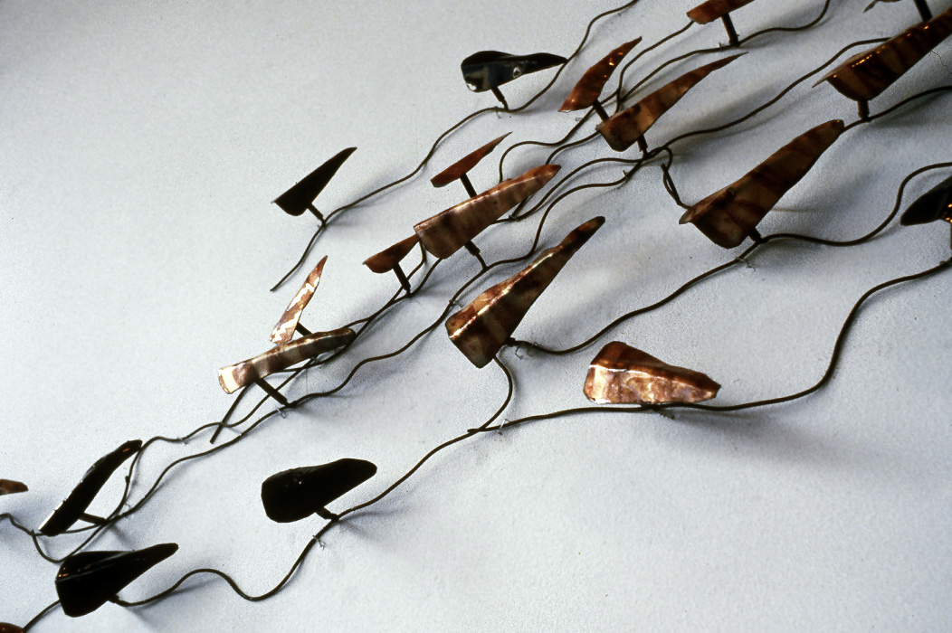 Metal Sculpture by Karen Kieser